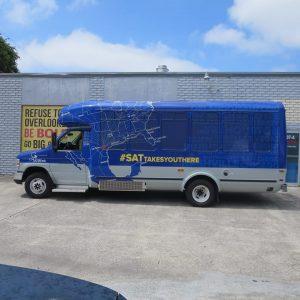 Bus Wraps custom bus van wrap vehicle 300x300